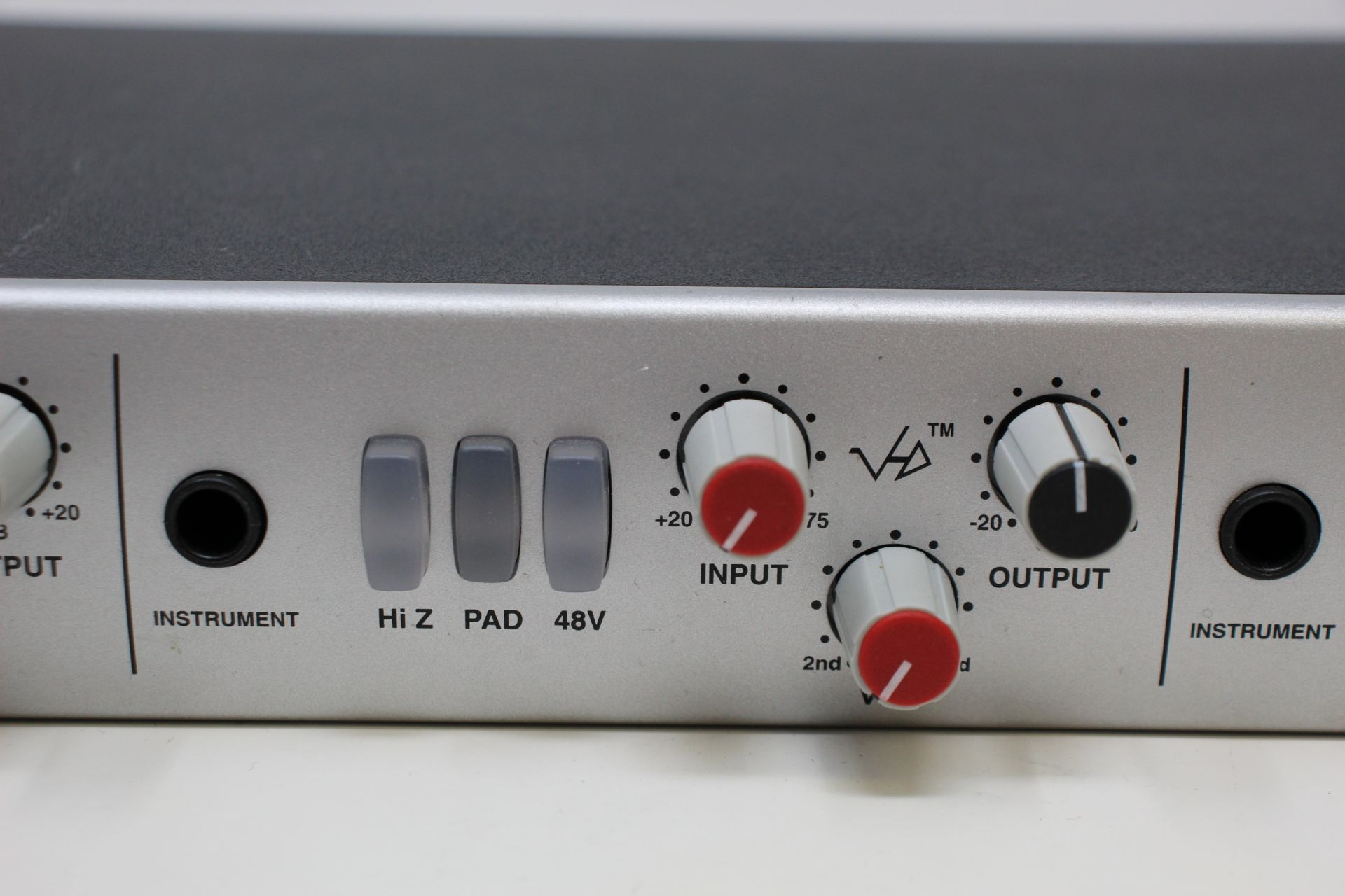 A pre-owned Solid State Logic XLogic Alpha VHD Pre 4-Channel Mic Preamp (Some damage. No power - Image 4 of 17