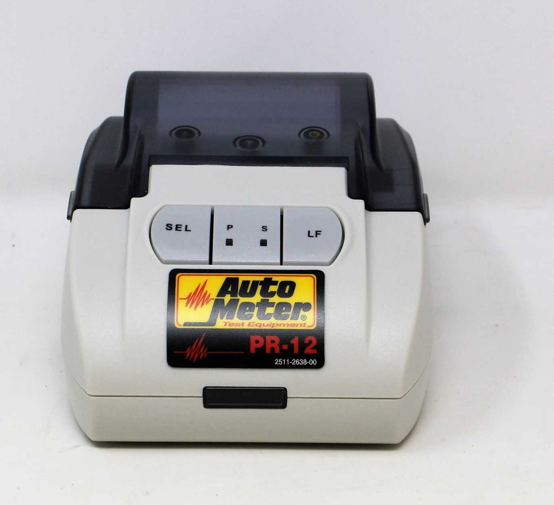 A boxed as new Auto Meter PR-12 Infrared External Printer (UK plug adaptor required).
