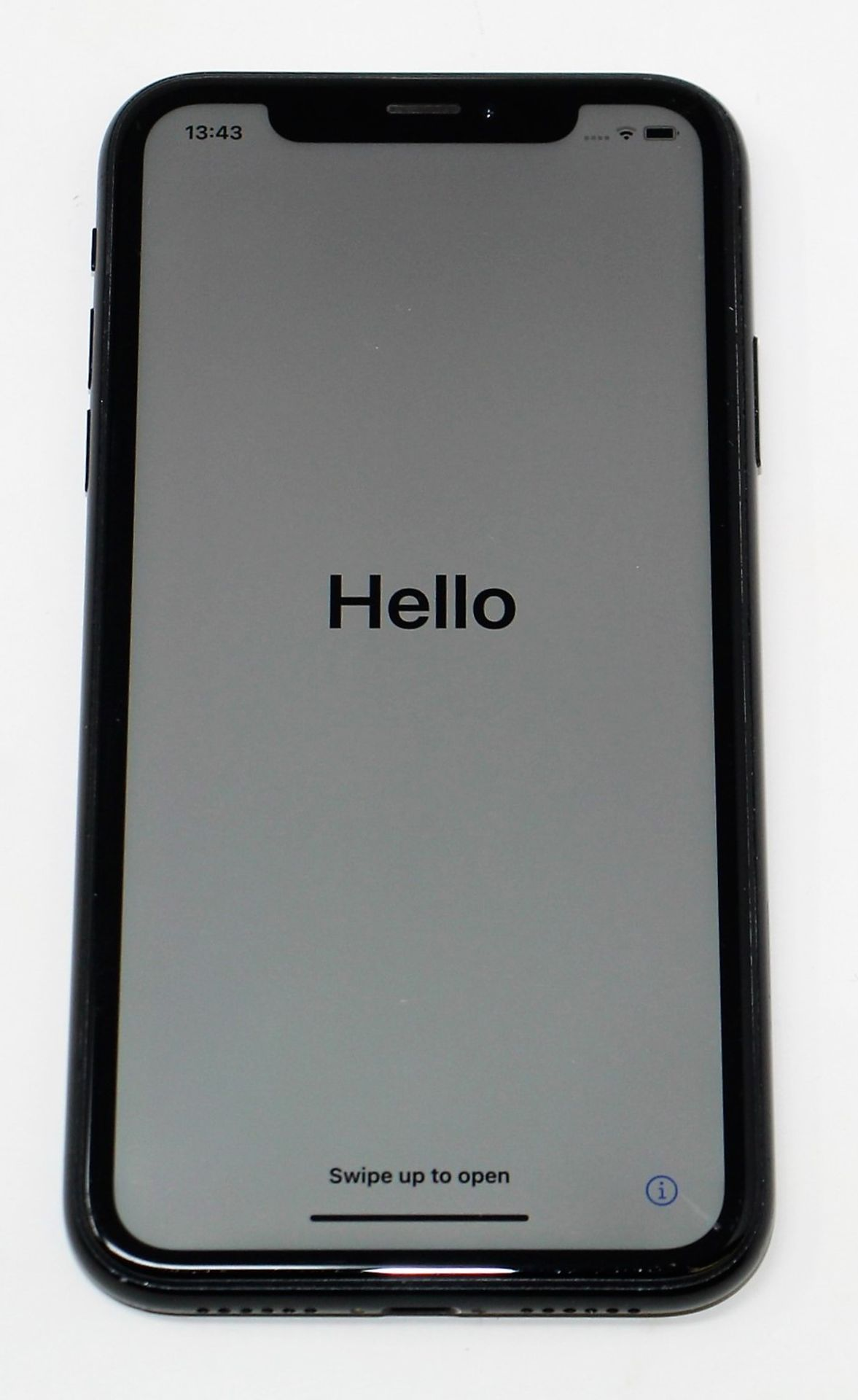 SOLD FOR PARTS: A pre-owned Apple iPhone XR (Global/A2105) 64GB in Black (iCloud Activation