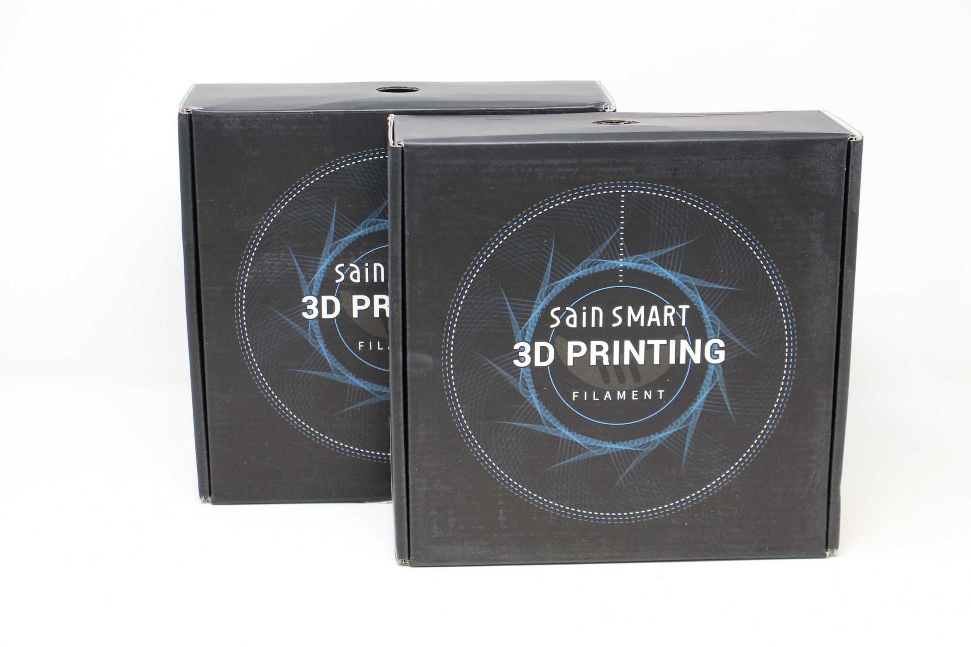 Two as new boxes of SainSmart Clear Flexible TPU 3D Printing Filament (1.75 mm, 0.8 kg) (SKU: 101-