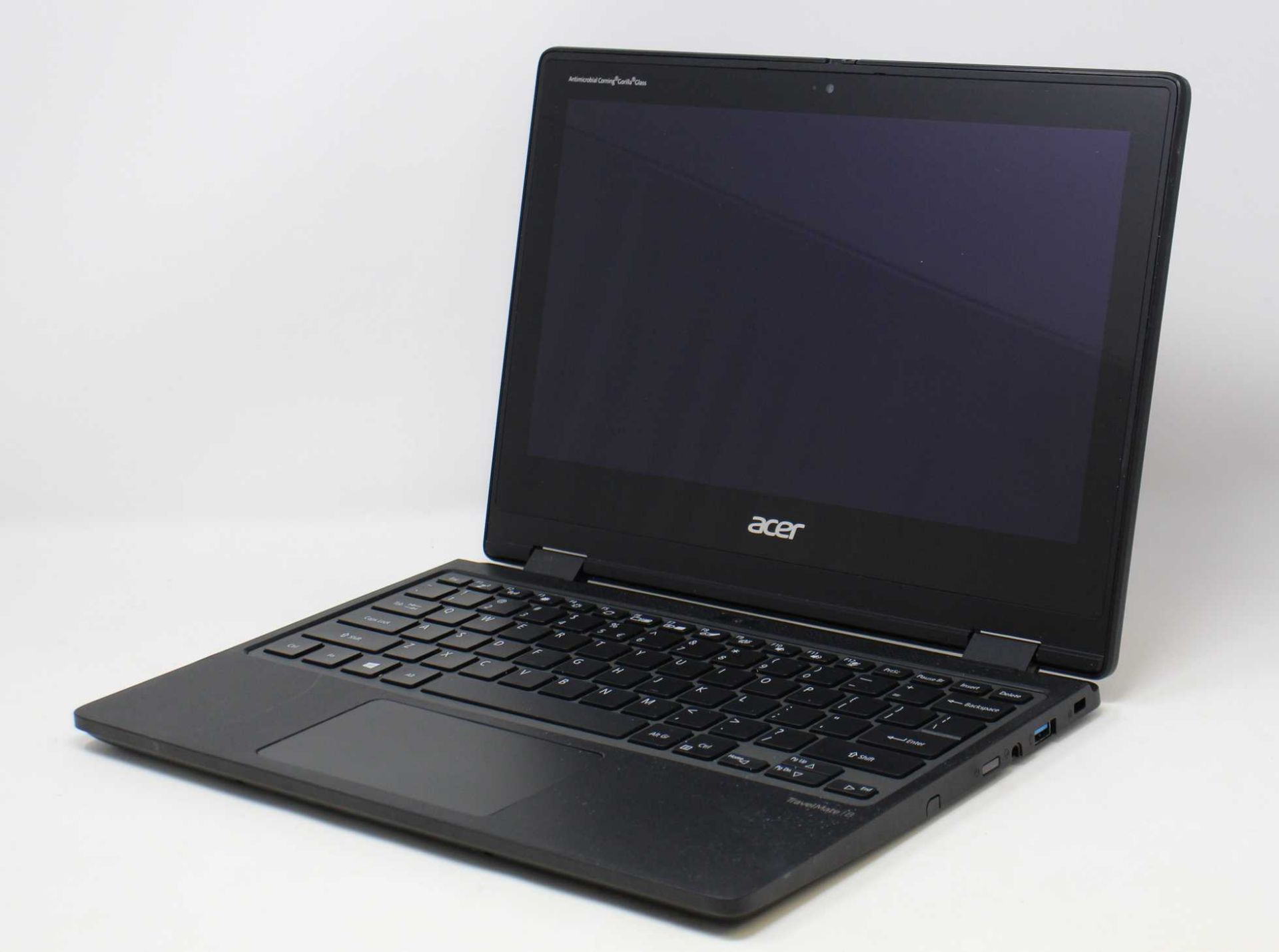 "A pre-owned Acer Travelmate B TMB311R-31-P4JQ 11.6"" HD Convertible Touchscreen Notebook with Intel"