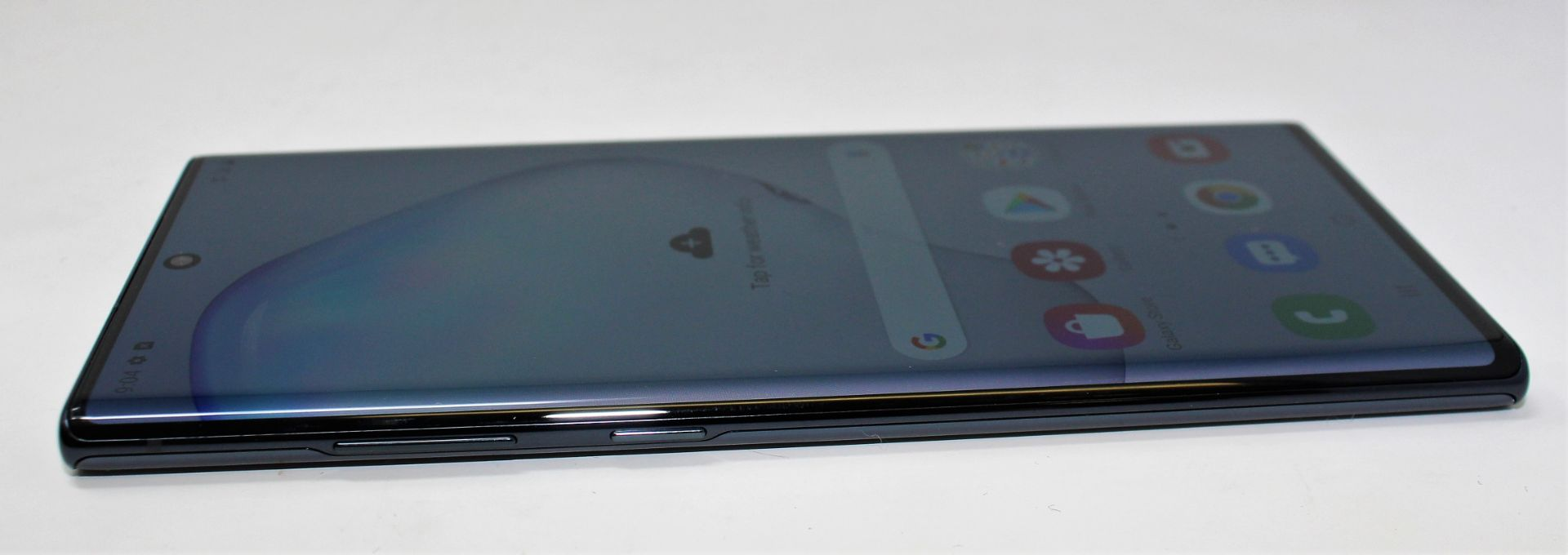 A pre-owned Samsung Galaxy Note 10+ SM-N975U 256GB in Black (FRP clear) (Checkmend report ID: - Image 6 of 8