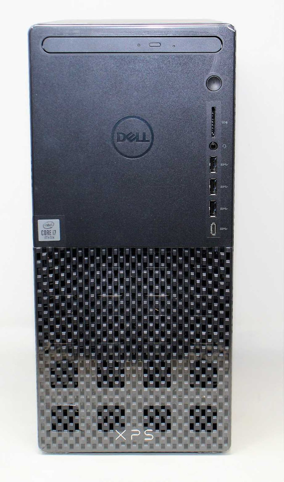 A boxed as new Dell XPS 8940 Tower Computer in Black with Intel Core i7-10700 2.9GHz CPU, 16GB