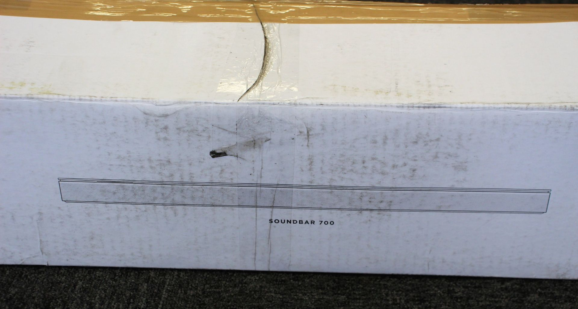COLLECTION ONLY: A factory refurbished Bose Soundbar 700 in Black (Box damaged). - Image 3 of 11