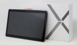 "A pre-owned LNMBBS X116 4G LTE 128GB 10.5"" Android Tablet in Black (FRP Clear) (Box and"