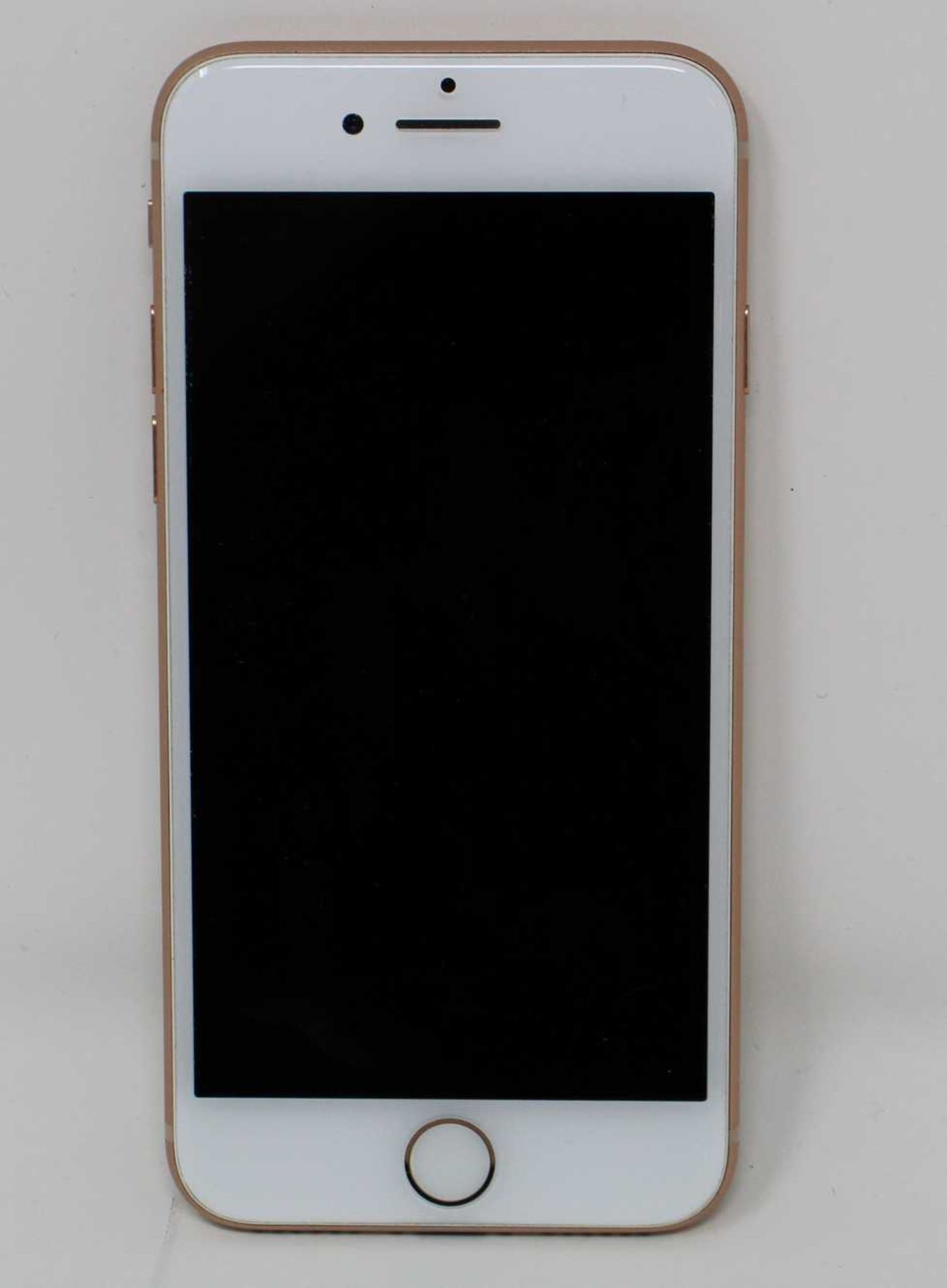 A pre-owned Apple iPhone 8 (AT&T/T-Mobile/Global/A1905) 64GB in Gold (iCloud activation clear) ( - Image 2 of 7