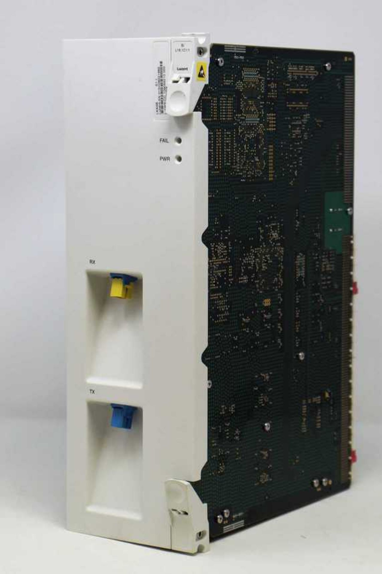 A pre-owned Lucent SI L16.1C1/1 LKA5B S1:1 Optical Line Circuit Pack (CC: 109055210 000) (
