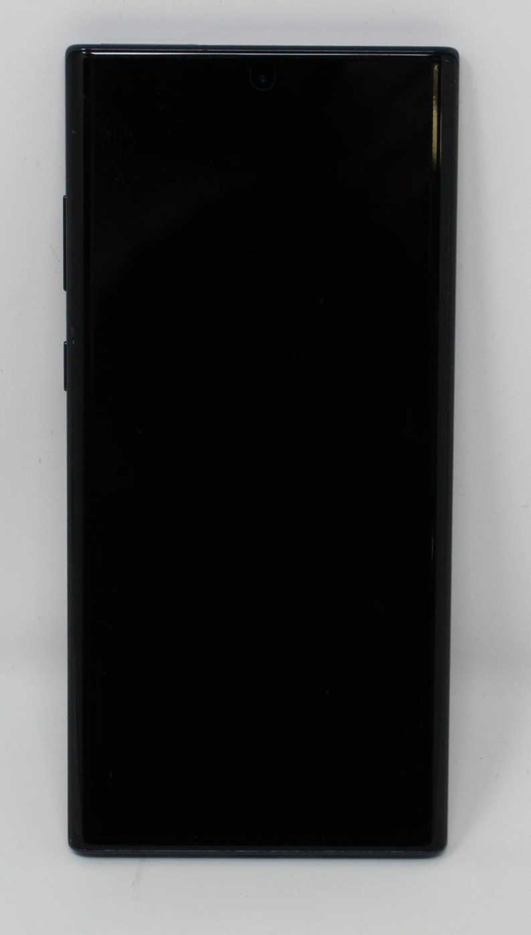 A pre-owned Samsung Galaxy Note 10+ SM-N975U 256GB in Black (FRP clear) (Checkmend report ID: - Image 8 of 8
