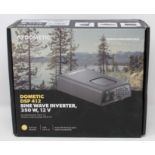 A boxed as new Dometic SinePower DSP 412 Sine wave inverter, 350 W, 12 V (EU Version) (Box sealed,