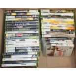 A quantity of pre-owned game disks for Xbox, Xbox 360, PC and PlayStation3.
