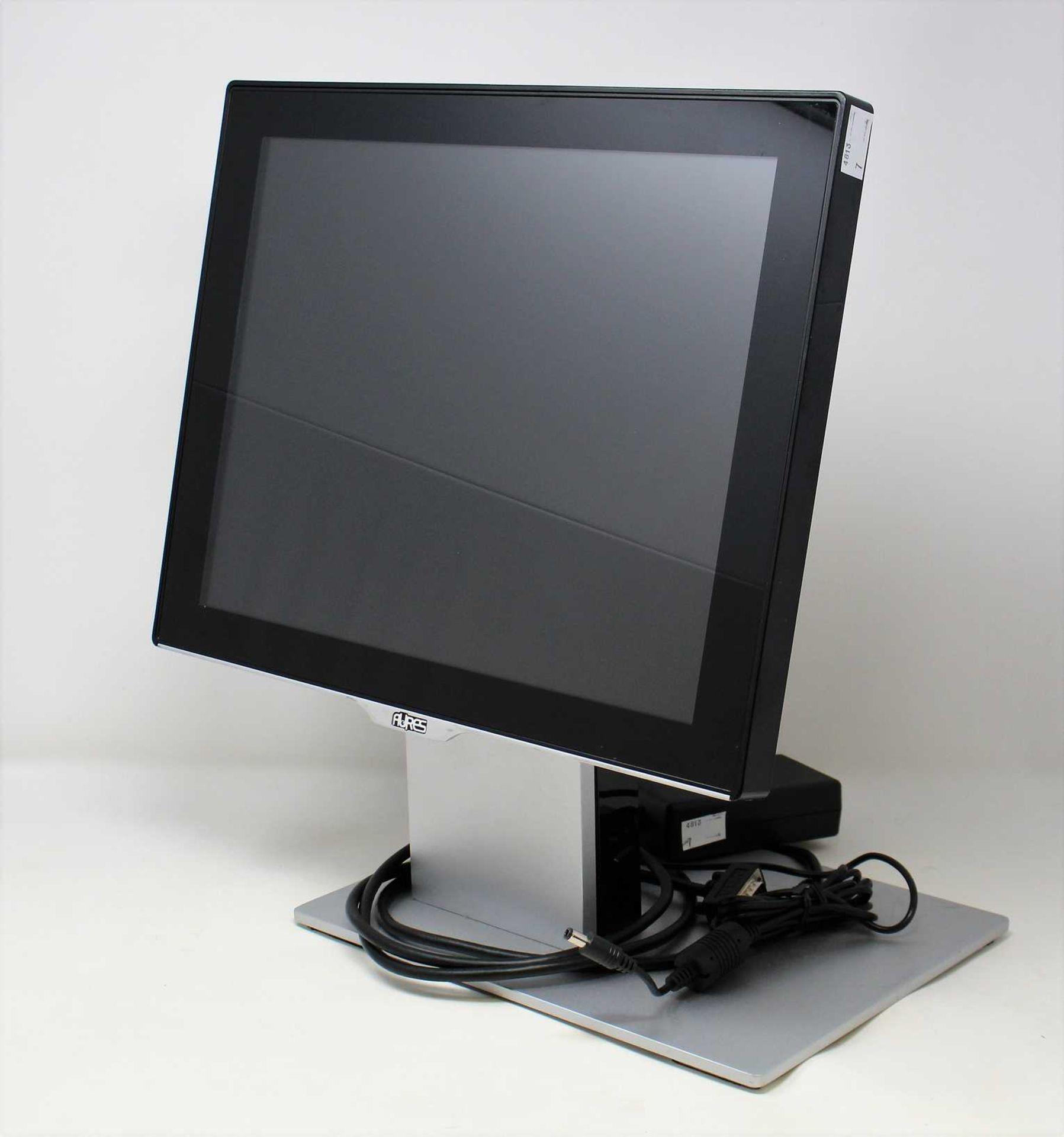 "A pre-owned Aures Sango 15"" EPOS Capacitive Touchscreen Monitor (USB / VGA / Mini Display Port"