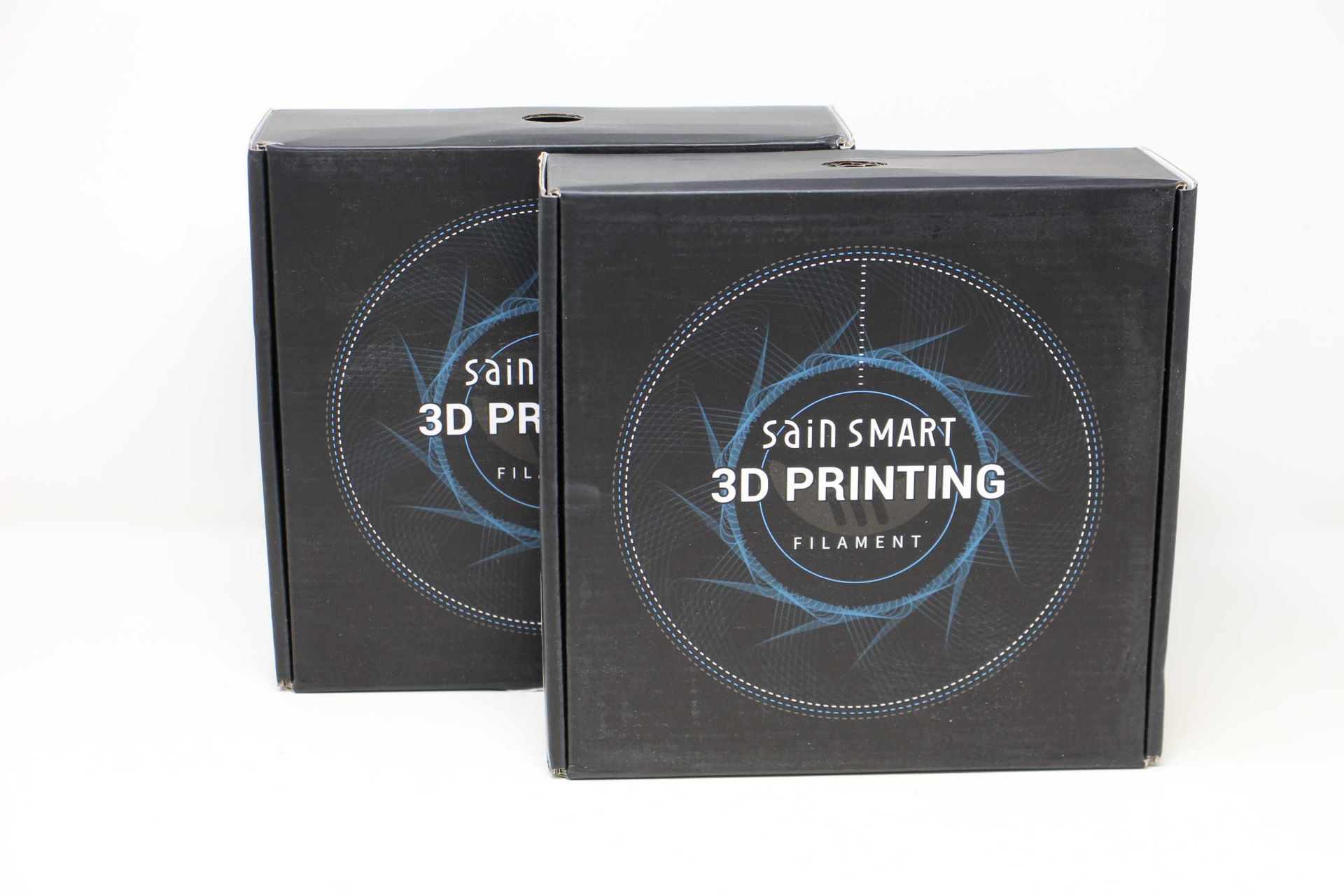 Two as new boxes of SainSmart Emerald Flexible TPU 3D Printing Filament (1.75 mm, 0.8 kg) (SKU: