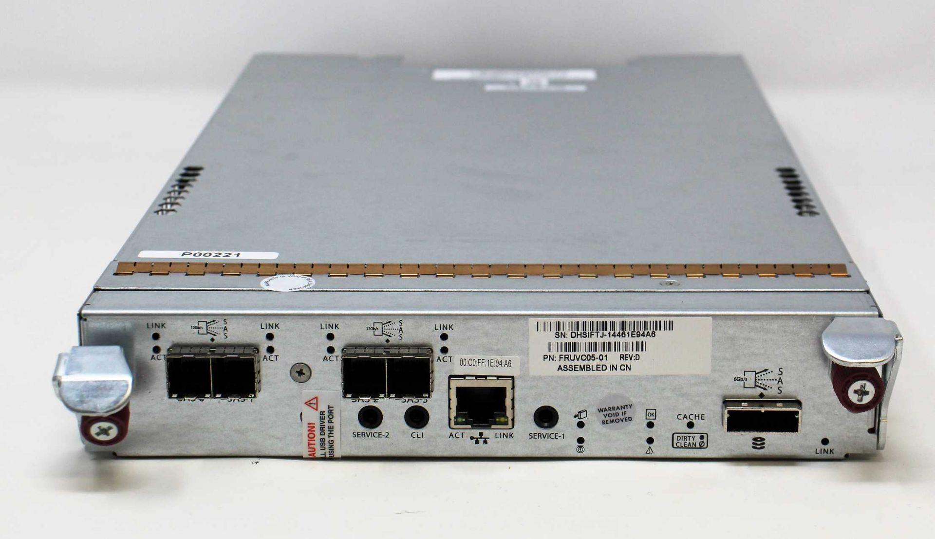A pre-owned Gallium LX RAID Controller 45X4,4-12GSAS,1RM-LX,4GB,FRU,PKG,TD (P/N:PFRUVC05-01) (