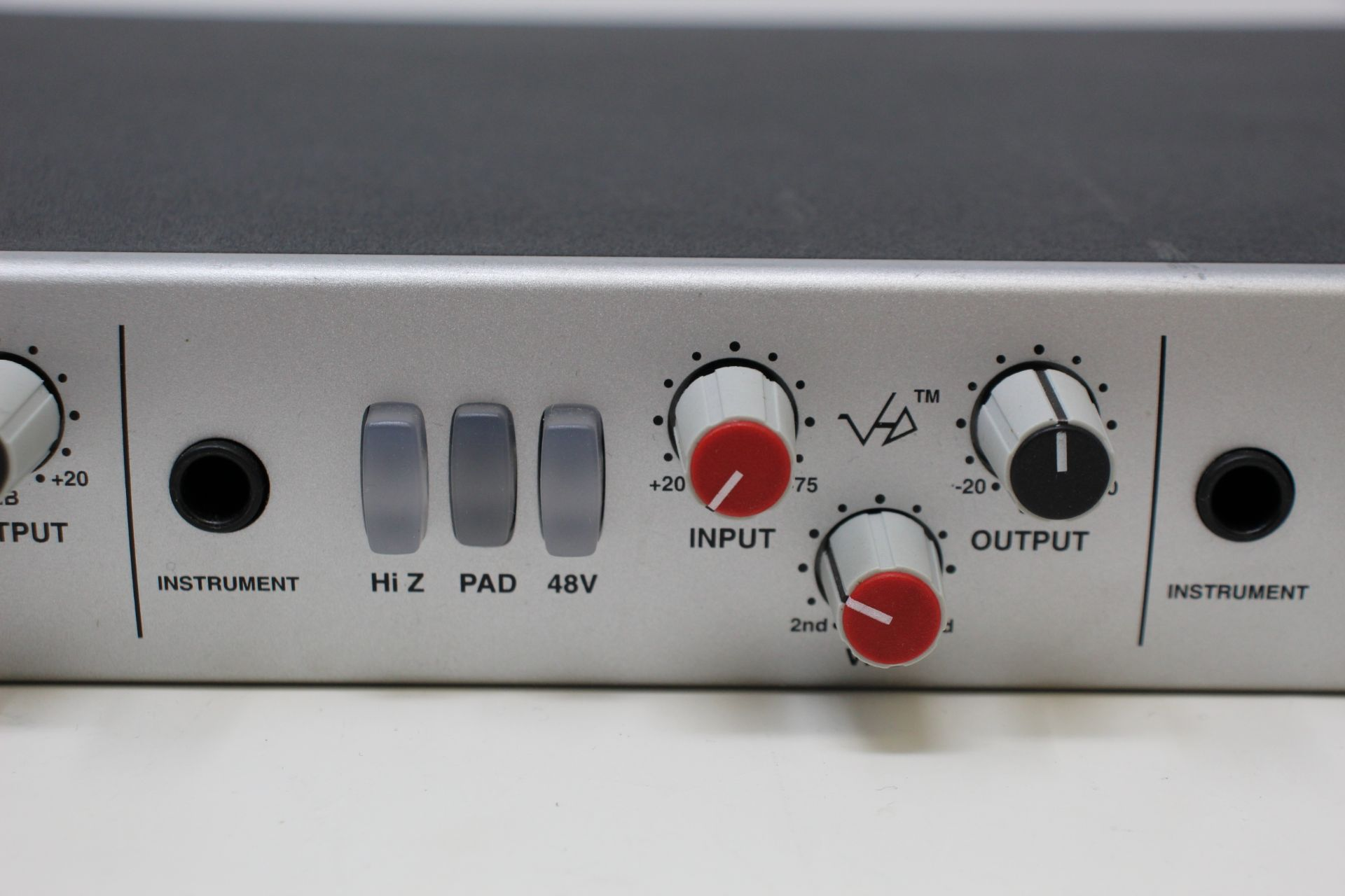 A pre-owned Solid State Logic XLogic Alpha VHD Pre 4-Channel Mic Preamp (Some damage. No power - Image 5 of 17