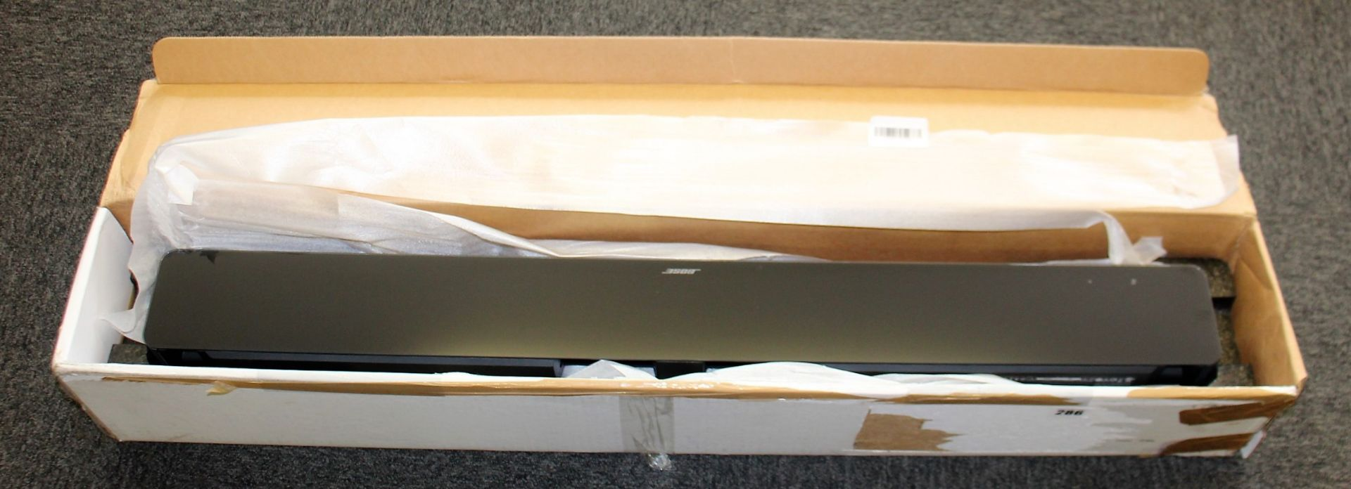 COLLECTION ONLY: A factory refurbished Bose Soundbar 700 in Black (Box damaged). - Image 8 of 11