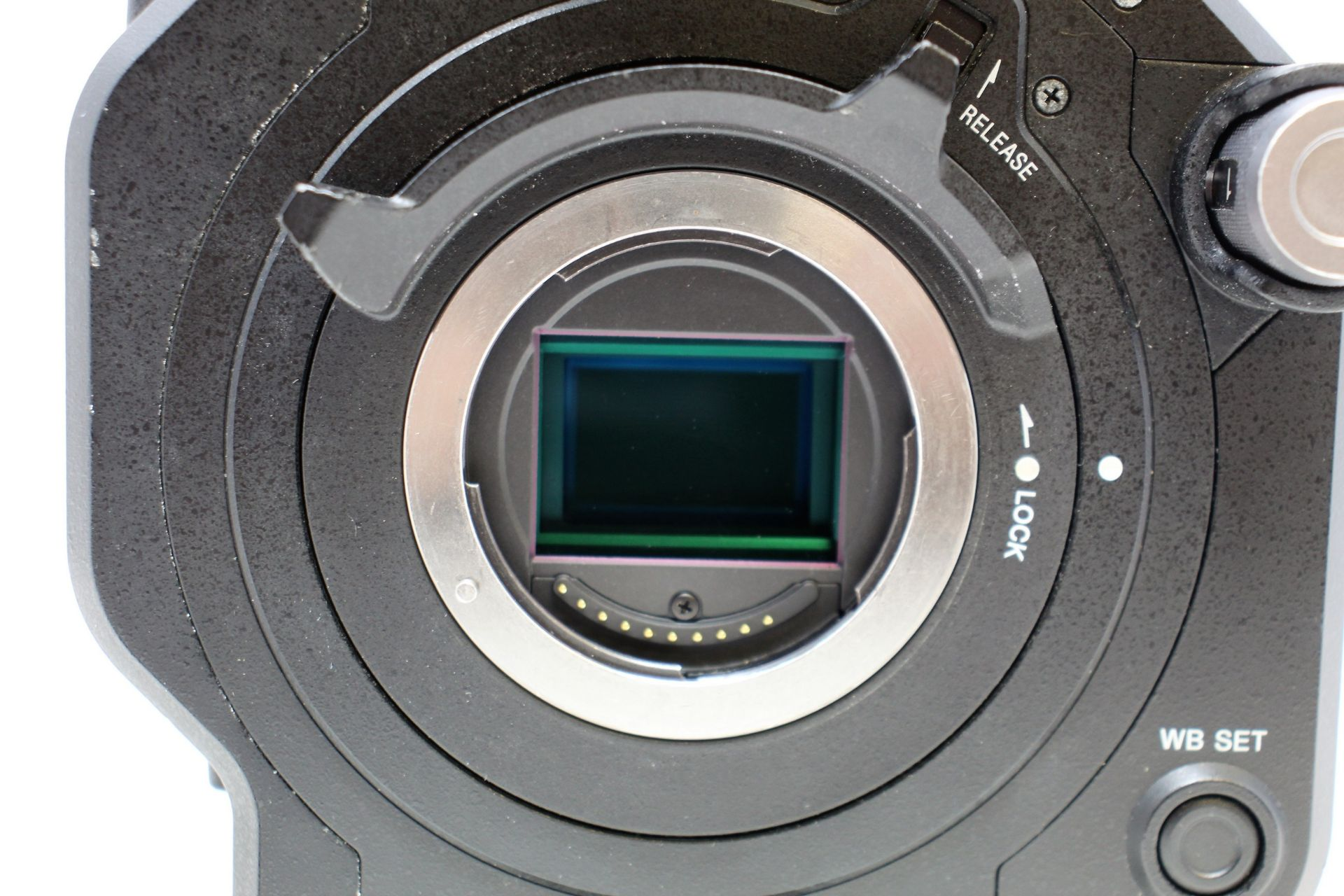 A pre-owned Sony PXW-FS7 II XDCAM 4K Super 35 E-mount Camera Body with Grip and LCD Monitor (M/N: - Image 8 of 33