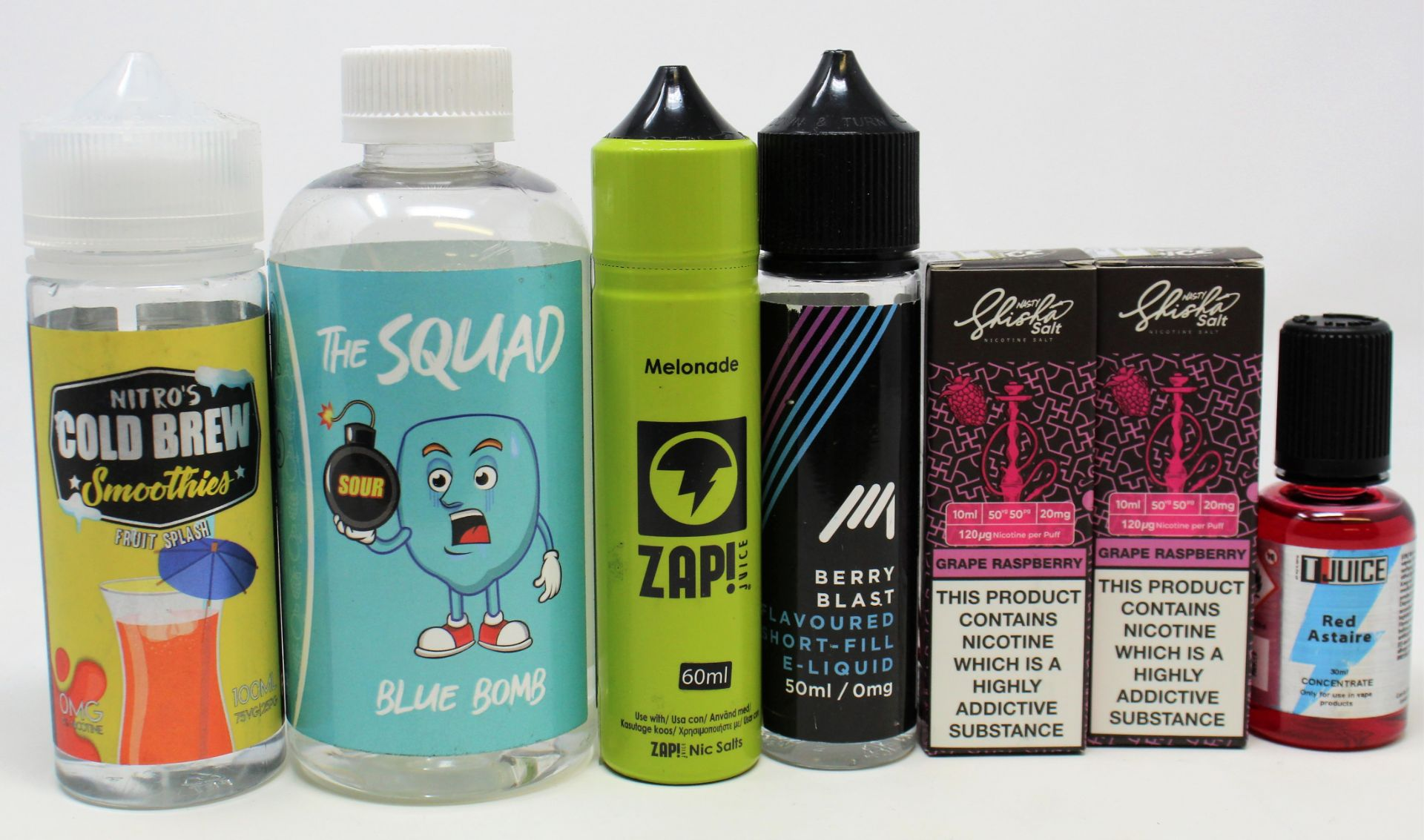 A quantity of assorted E-Liquids to included Juice N' Power, Coil Spill and Totally Wicked (Over - Image 4 of 9