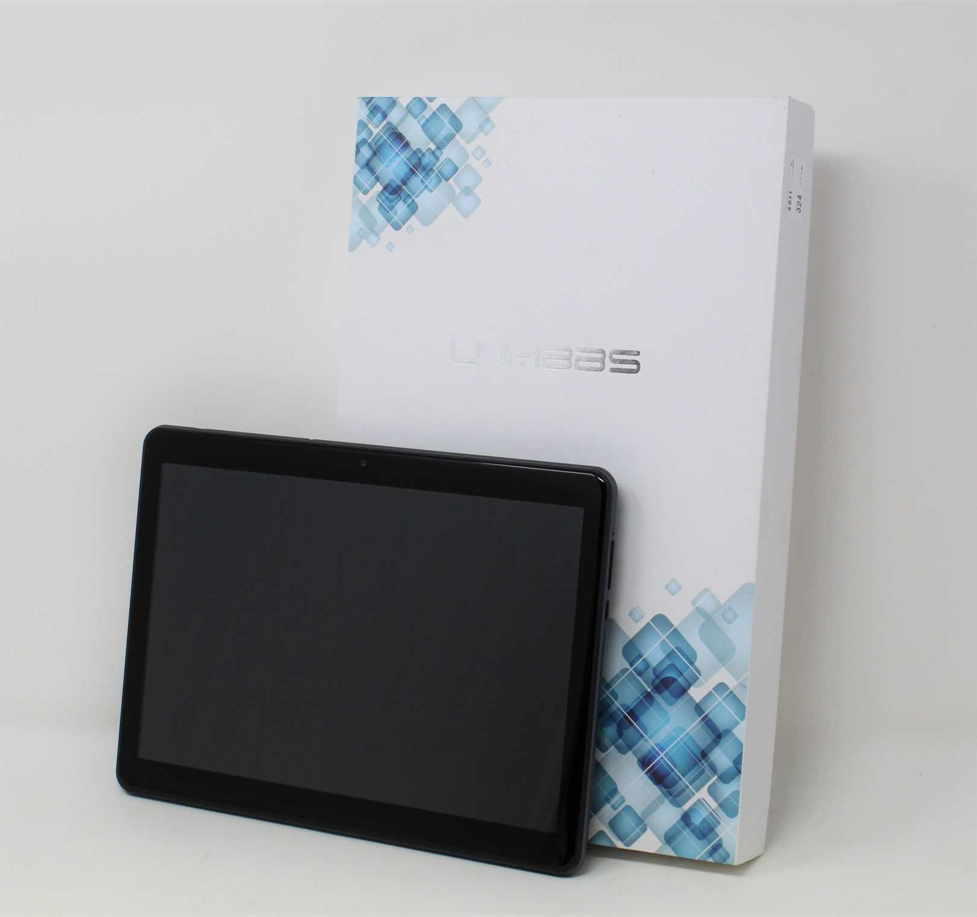 "A boxed as new LNMBBS K80 64GB Dual SIM 10.1"" Android Tablet in Grey (Box and accessories"