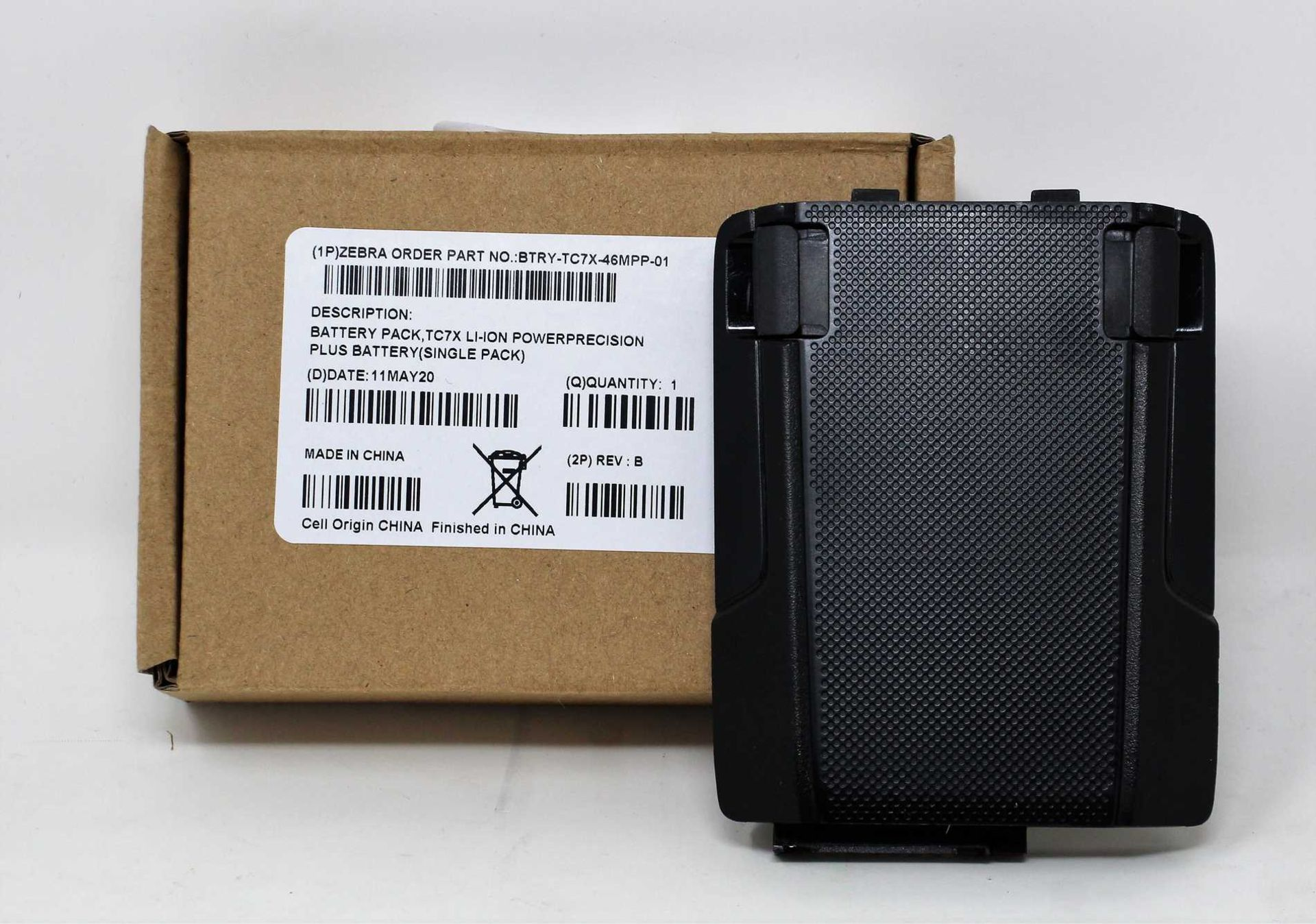 A boxed as new Zebra BTRY-TC7X-46MPP-01 TC70x/TC75x 4620mAh Spare Battery with PowerPrecision
