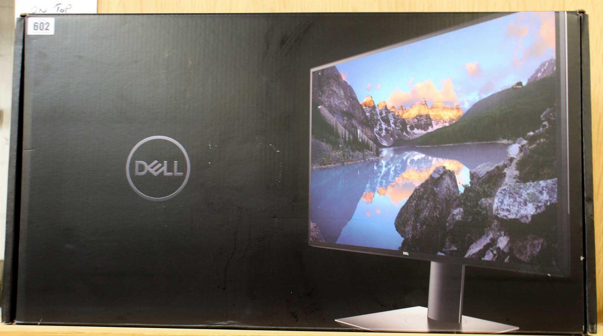 A boxed as new Dell UltraSharp 27 4K USB-C Monitor (VPN: U2720Q P/N: 0XXK2Y) (Box sealed, some