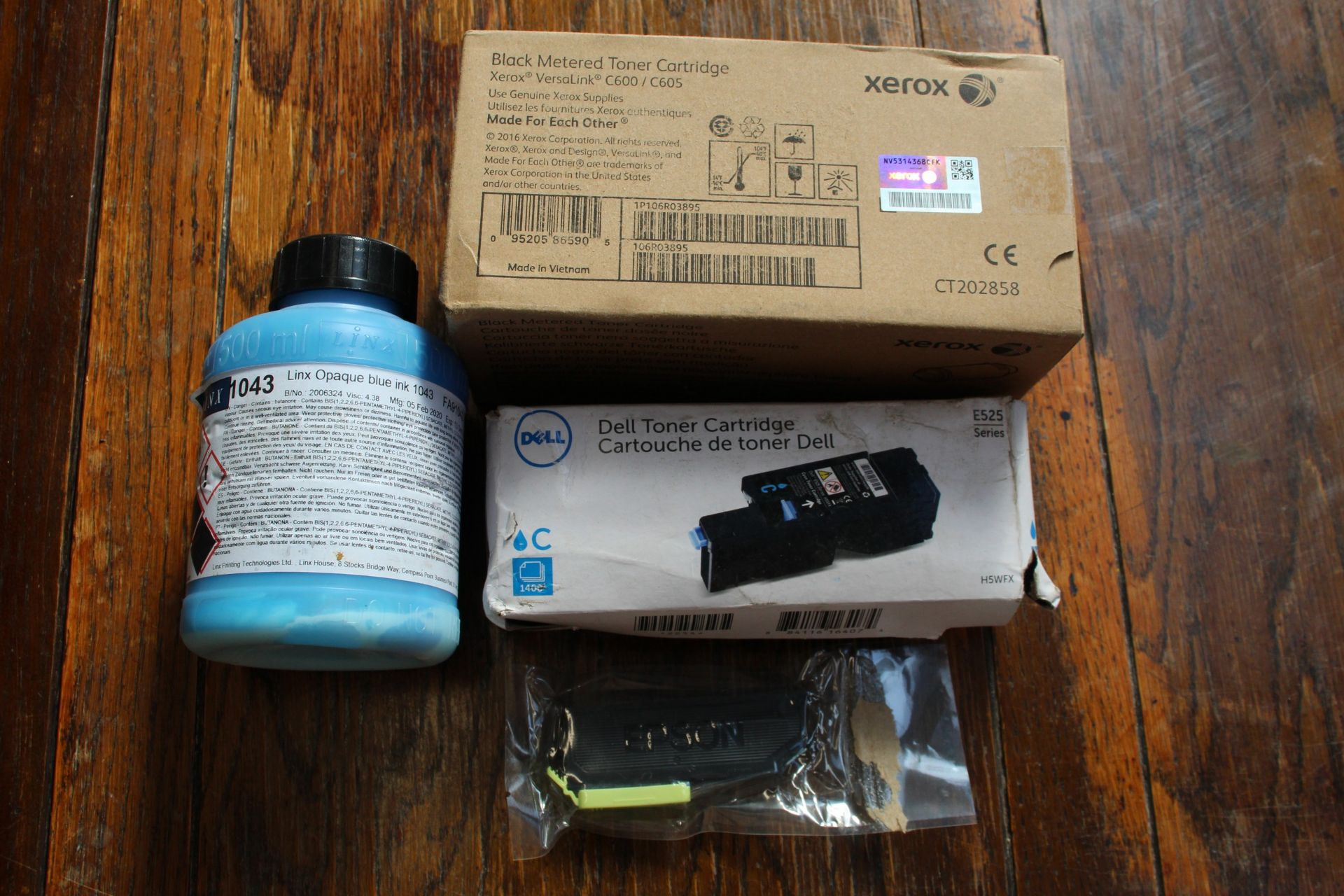 COLLECTION ONLY: A quantity of assorted printer parts and cartridges. - Image 4 of 7