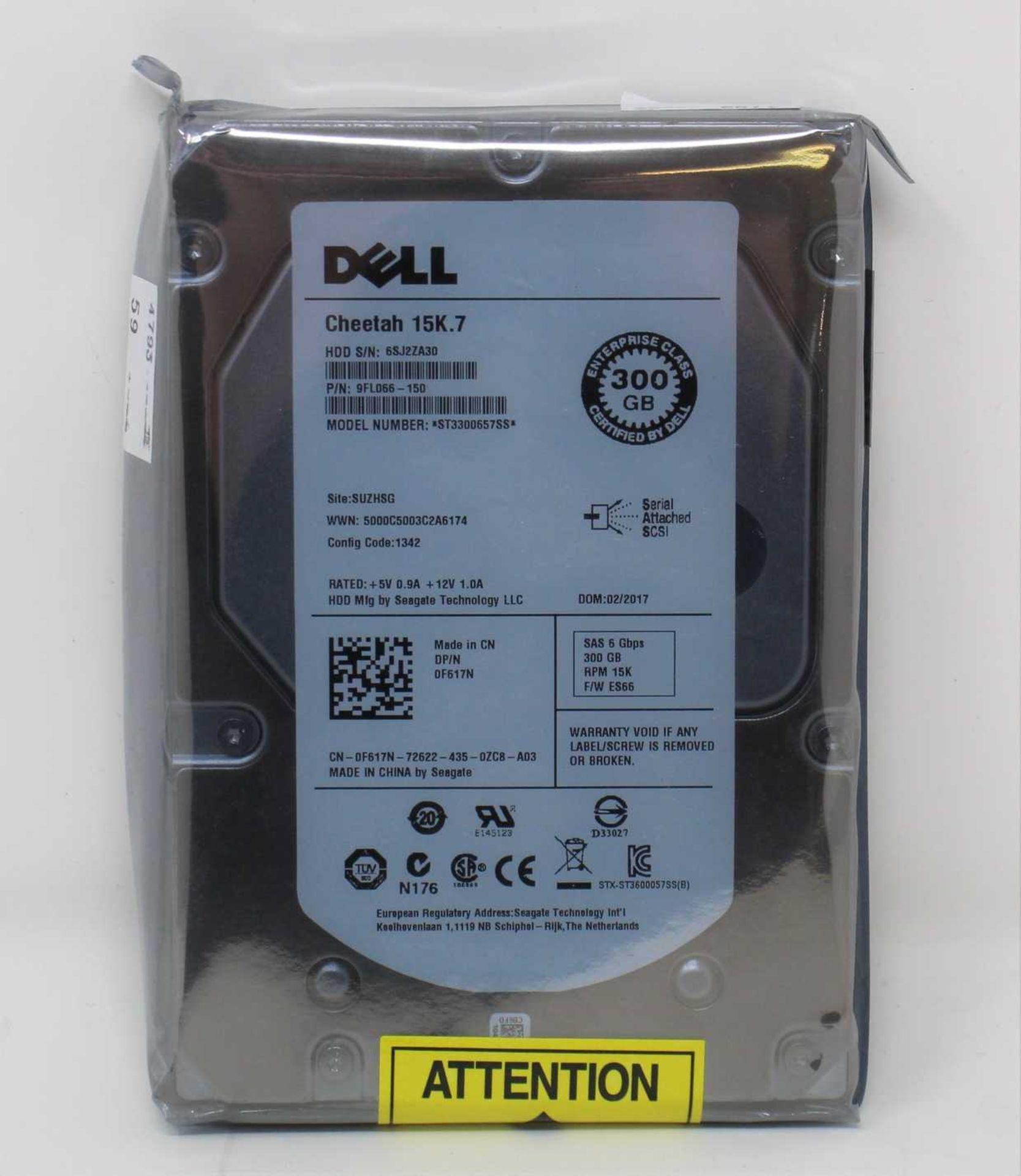 An as new Dell Enterprise Seagate Cheetah 15K.7 SAS 6bps 300GB Hard Drive (Model: ST3300657SS P/N: