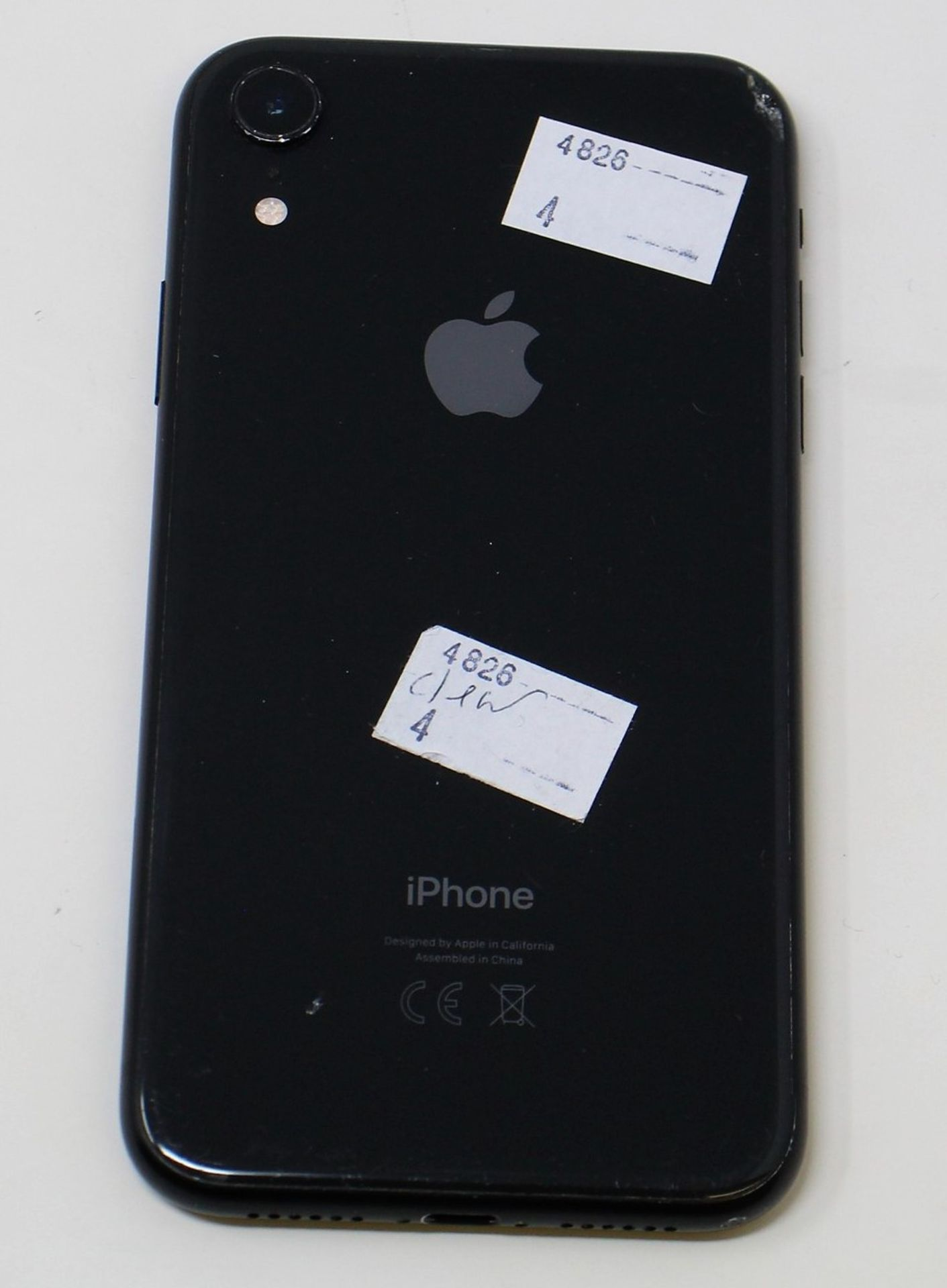 SOLD FOR PARTS: A pre-owned Apple iPhone XR (Global/A2105) 64GB in Black (iCloud Activation - Image 9 of 16