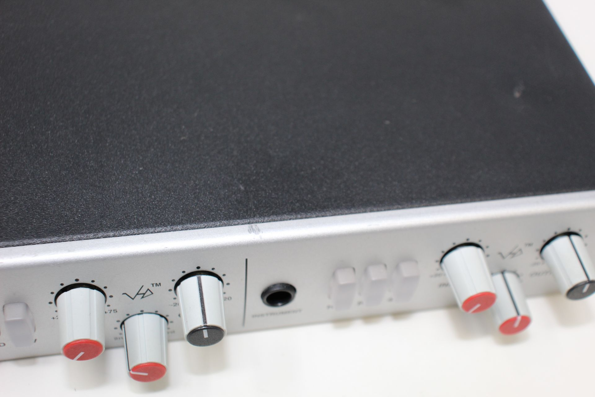 A pre-owned Solid State Logic XLogic Alpha VHD Pre 4-Channel Mic Preamp (Some damage. No power - Image 7 of 17