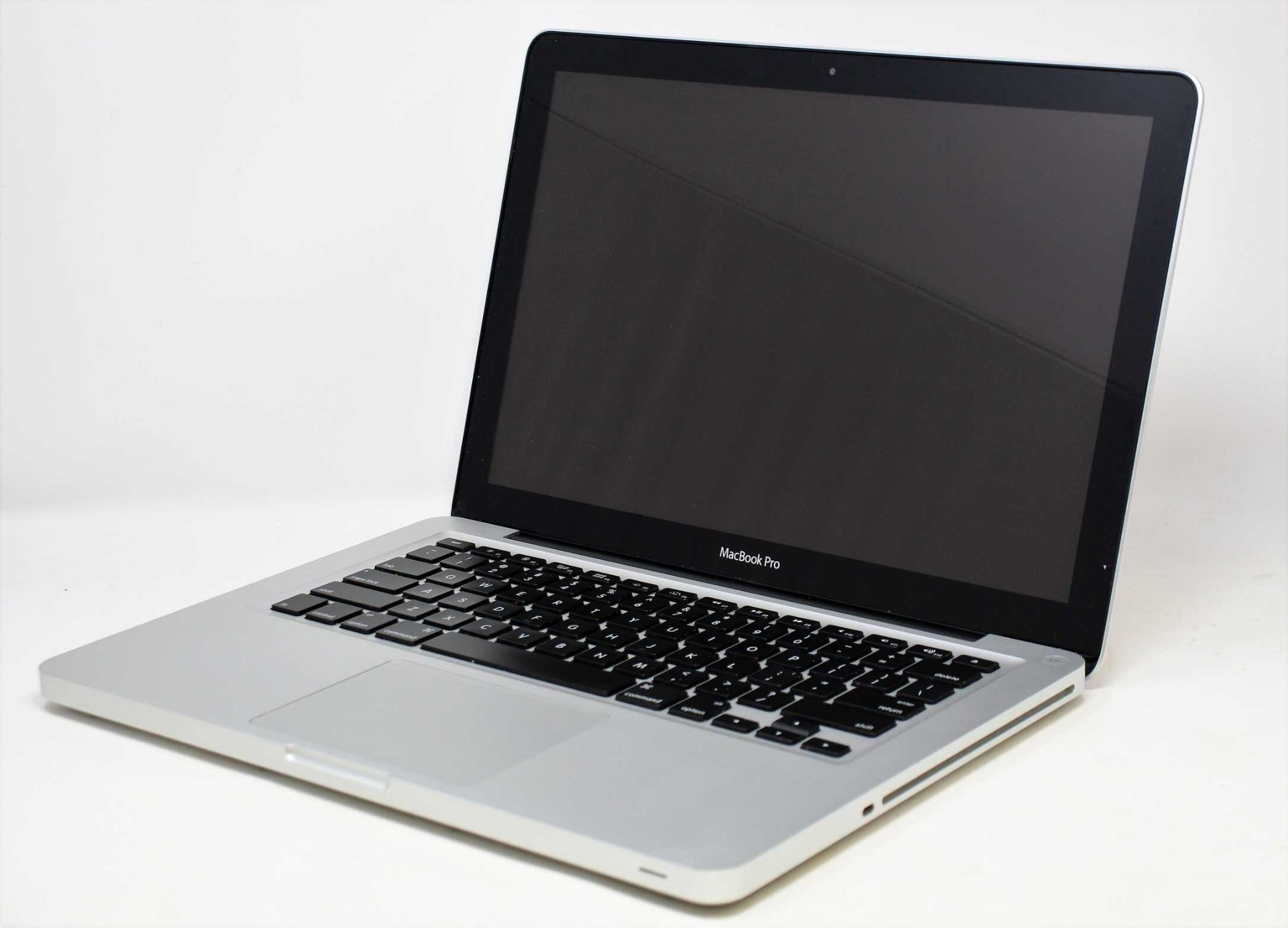 A pre-owned MacBook Pro (13-inch, Mid 2012) A1278 in Silver with Intel Core i5 2.5GHz, 8GB RAM,