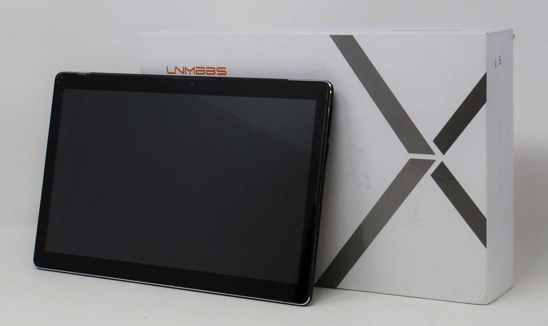 """A pre-owned LNMBBS X116 4G LTE 128GB 10.5"""" Android Tablet in Black (FRP Clear) (Box and"""