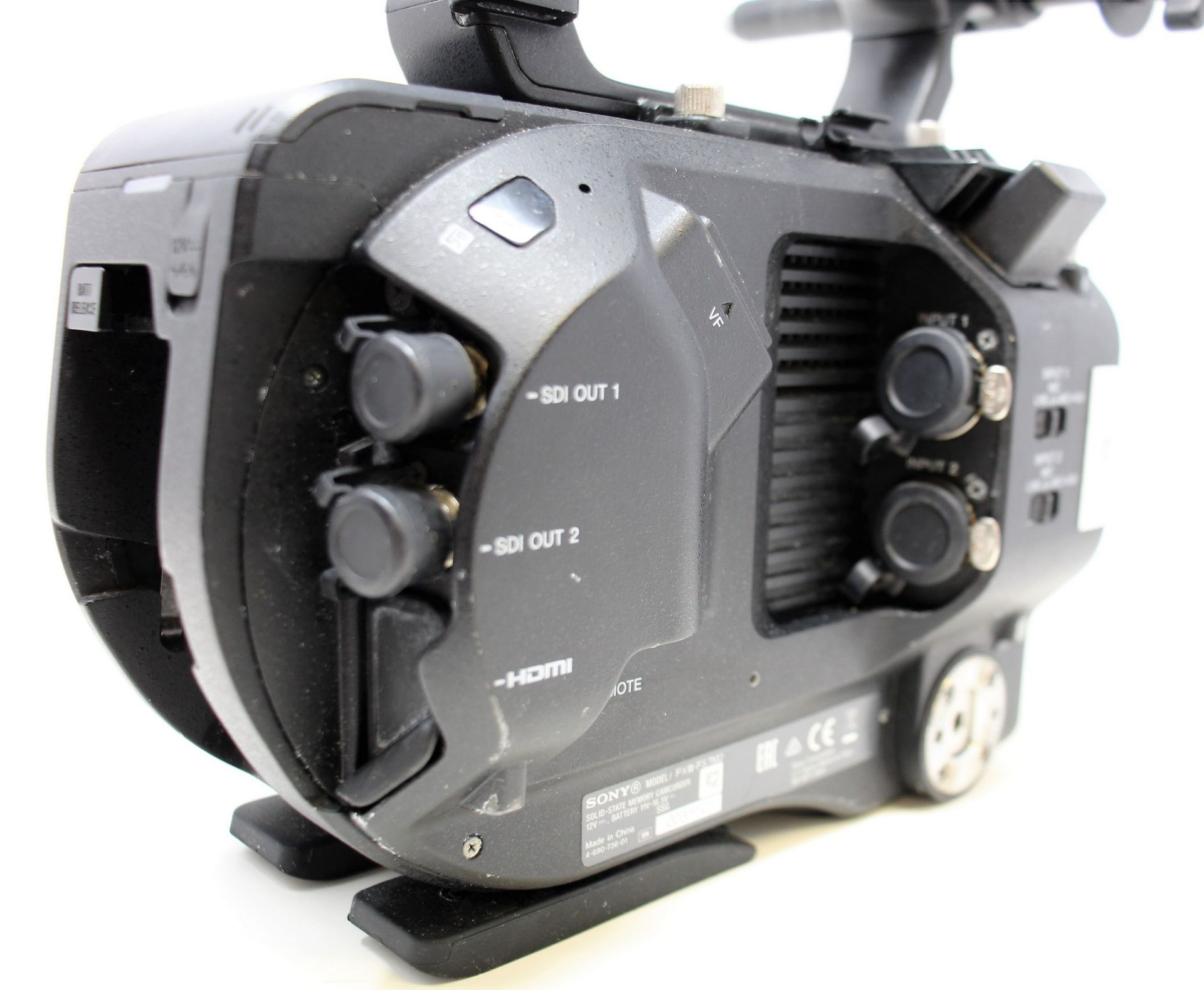 A pre-owned Sony PXW-FS7 II XDCAM 4K Super 35 E-mount Camera Body with Grip and LCD Monitor (M/N: - Image 11 of 33
