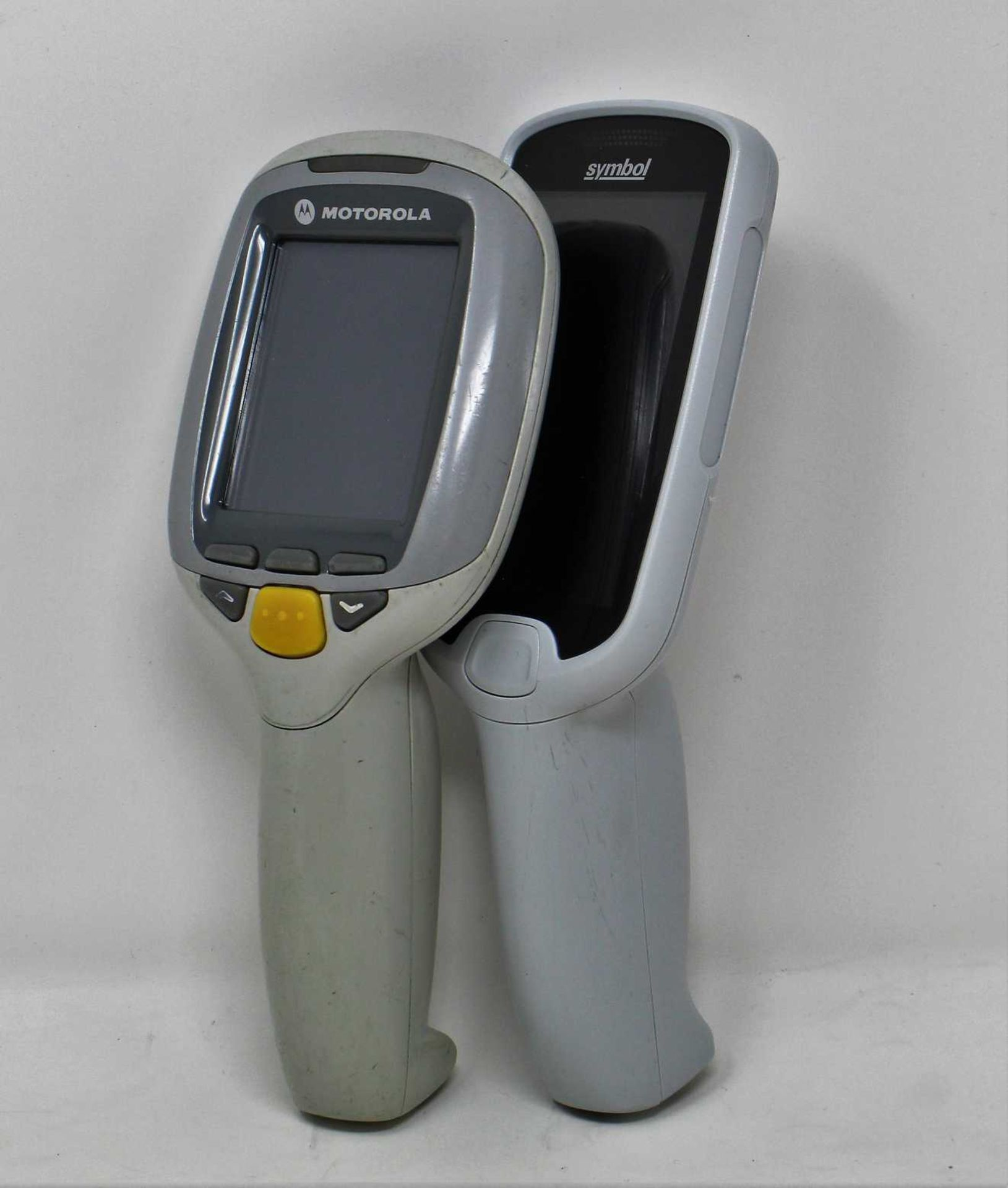 SOLD FOR PARTS: A pre-owned Symbol MC18N0 Mobile Computer Barcode Scanner (M/N: MC18G-09-KIT-01A) (