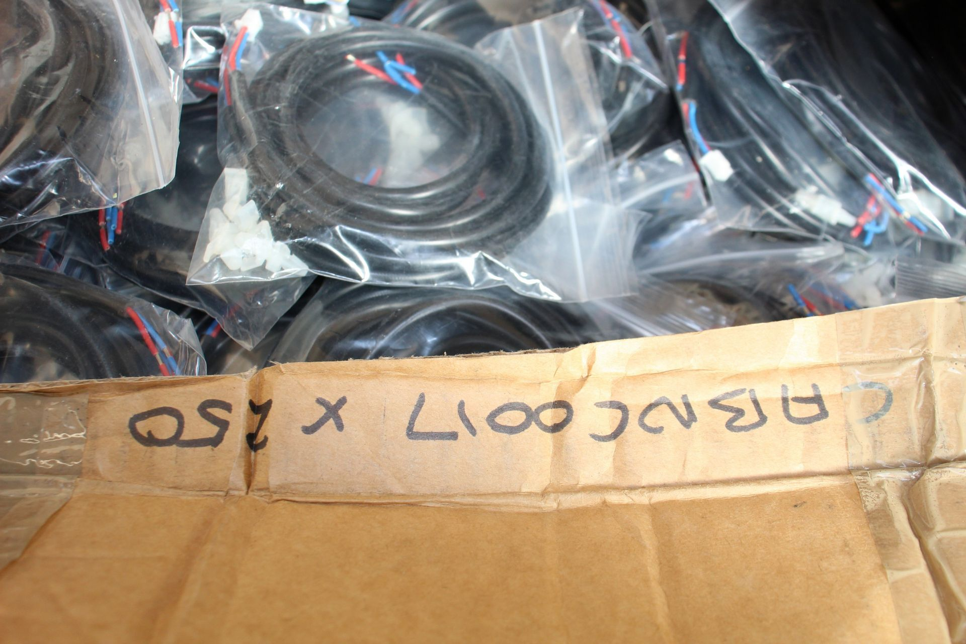 COLLECTION ONLY: A large quantity of assorted as new cables and plugs. - Image 9 of 11