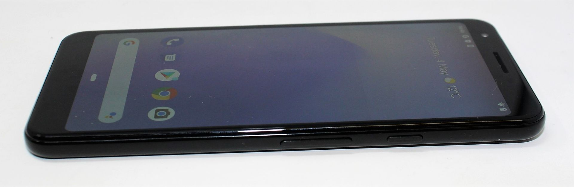 A pre-owned Google Pixel 3a G020G 64GB in Just Black (FRP clear) (Checkmend report ID: CM16922336- - Image 9 of 15