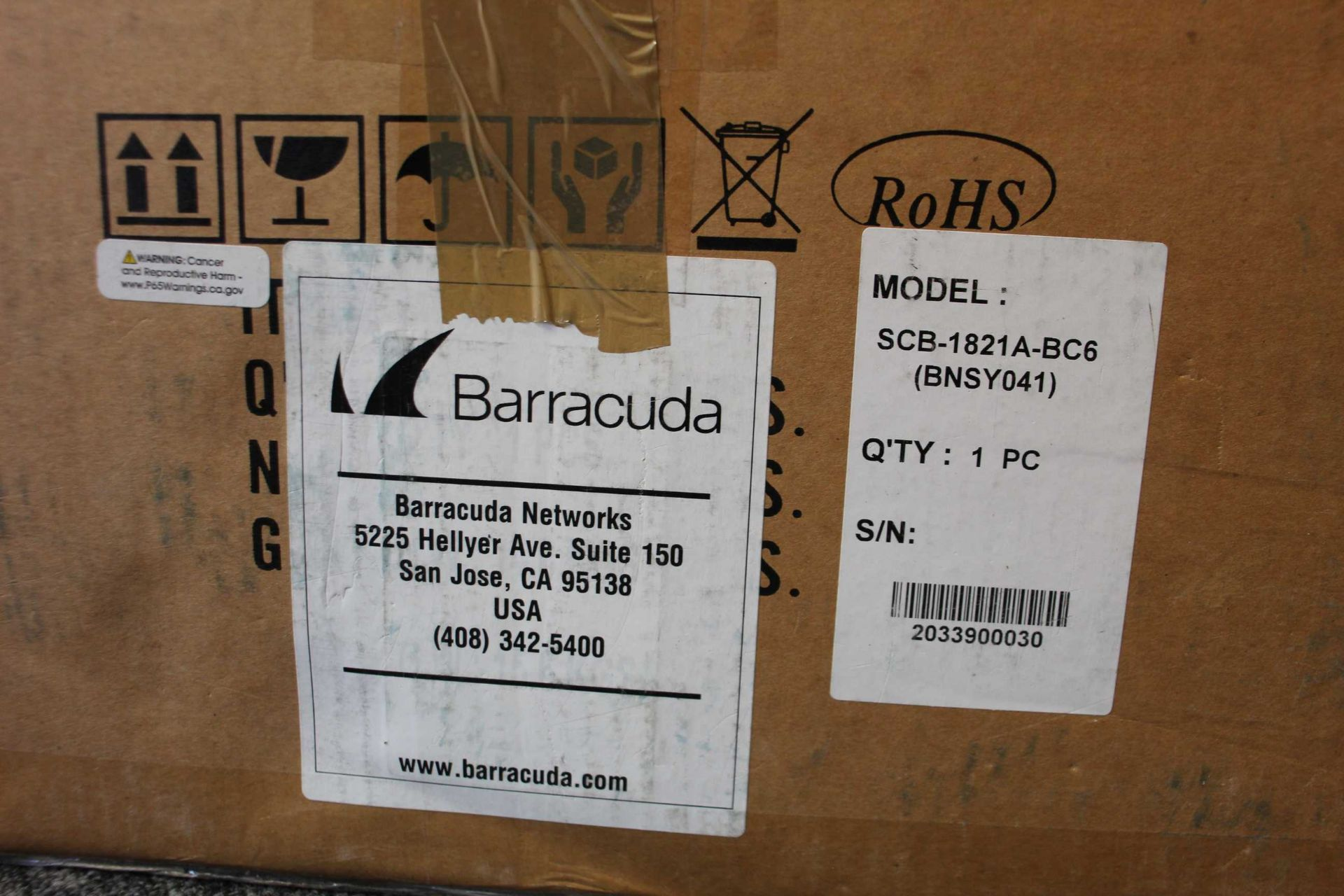 A boxed as new Barracuda Load Balancer ADC 640 (BBF640B BAR-BF-139349) (Rails, cables and manual - Image 3 of 18