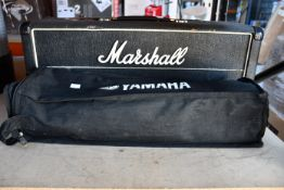 A pre-owned Marshall Mk2. Master Model 100 watt Guitar Amp Head (Unit only, some damage to item)