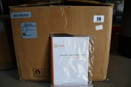 A boxed as new Solis 3P 10K-4G-LV Solar Inverter.