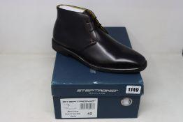 A pair of as new Steptronic Mitcham boots (EU 42).