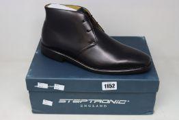 A pair of as new Steptronic Mitcham boots (EU 45).