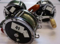 A pre-owned Penn deep sea reel No 49, a pre-owned Penn Super mariner No 49 and a pre-owned Penn