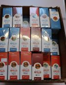 A large quantity of boxed as new OPlus E-Liquid in various flavours 6,12 and 18mg/ml (50 x 10 x