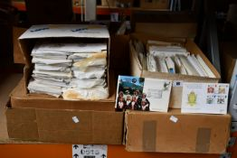 A large stock of commemorative and first day covers, many good themes, thousands.