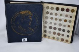 Coins- world collection in two Collecta Albums.