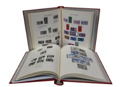 GB Mint stamp collection in three Windsor volumes including good early- Seahorses and Geo-vi Square,