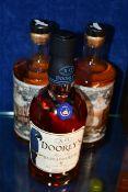 A Kinsale Blacks spiced Irish rum (700ml), a Kinsale Blacks Golden rum (700ml) and a Doorly's fine