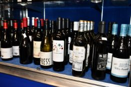 A quantity of assorted red/white wines to include Saint Emilion, Pago De Valdoneje Mencia 2019,