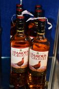 Six The Famous Grouse blended scotch whisky (6 x 1ltr) (Over 18s only).