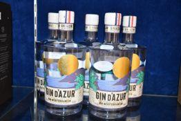Five Gin D'azur gin Mediterranean (700ml) (Over 18s only).