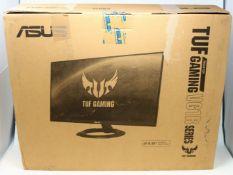 "A boxed as new ASUS TUF Gaming VG249Q1R 23.8"" Full HD IPS Monitor (P/N: 90LM05V1-B01E70) (Box"