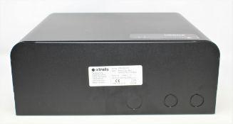 Two boxed as new Vesda Xtralis VPS-220-STX VESDA-E Power Supply Units in Black (1 x box opened, 1